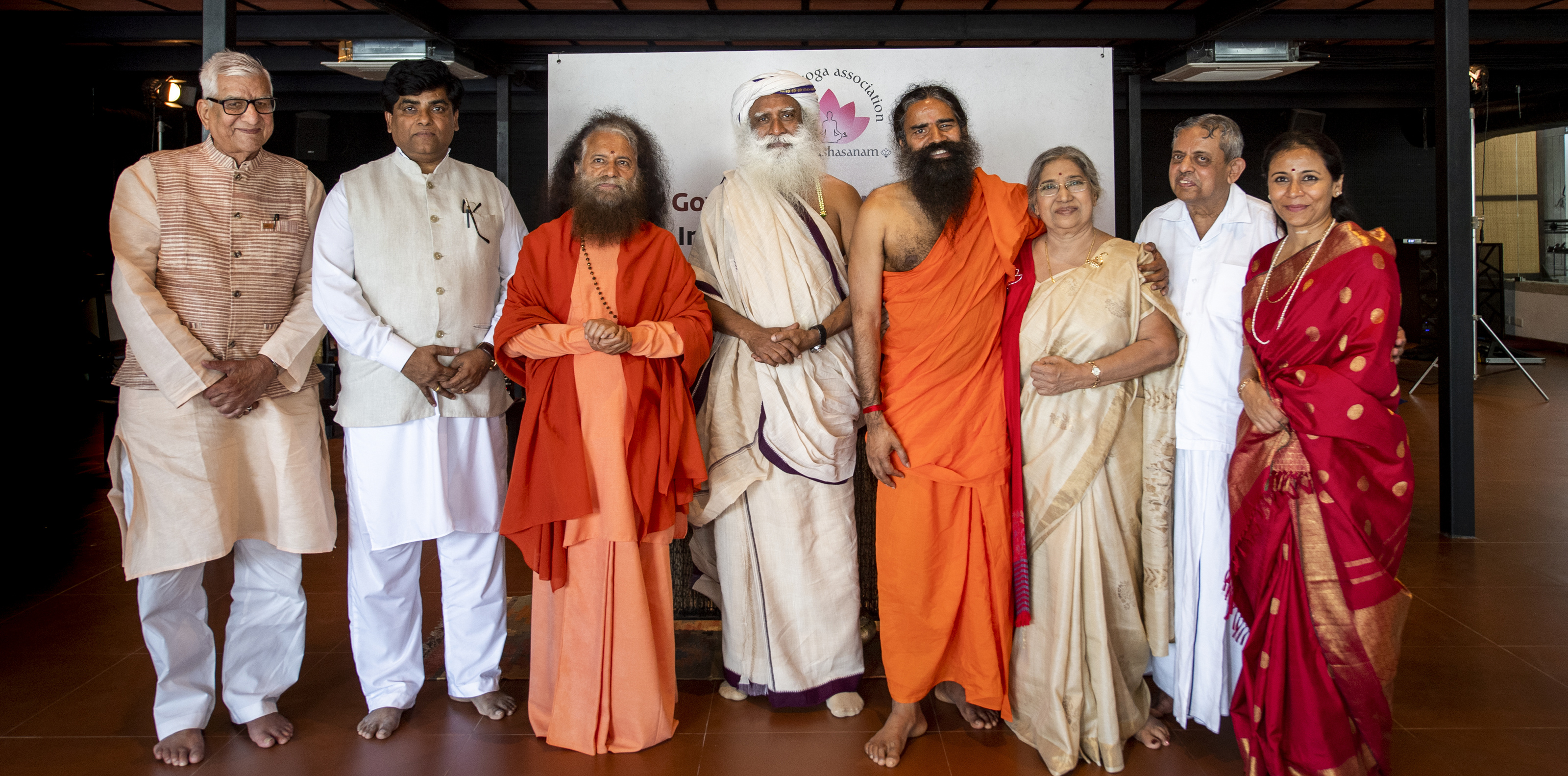 Second governing council meet of the Indian Yoga Association