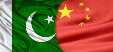 Pakistan-China flags (File)