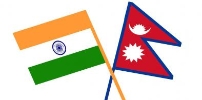 India-Nepal flags (File)