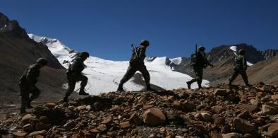 Indian Troops In Doklam