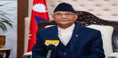 Nepal PM Oli (File)