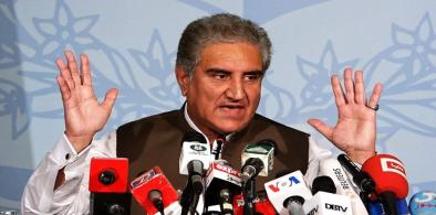 Pakistan Foreign Minister Shah Mahmood Qureshi (File)