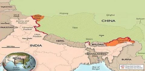 China includes Arunachal Pradesh in its updated map ...