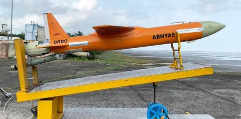 India on Tuesday successfully flight-tested Abhyas, a high-speed target drone for practice of weapon systems with realistic threat scenarios India on