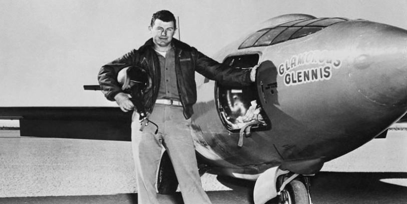 Chuck Yeager: Aviation Legend who batted for the Pakistan Air Force